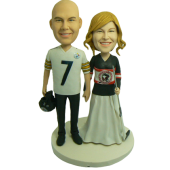 Sport Fans Wedding Cake Topper