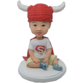 Super Baby Custom Bobblehead