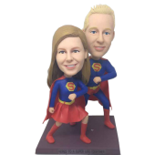 Super Couple Wedding Bobbleheads