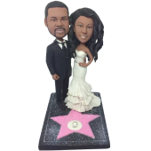 Super Star Couple Bobbleheads