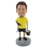 Window Cleaner Bobblehead