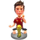 World Cup Champion Custom Bobble