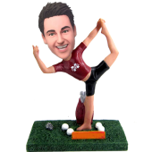 Yoga Buddy Custom Bobblehead