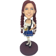 Beer Girl Custom Bobblehead
