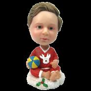 Christmas Present Bobblehead Baby