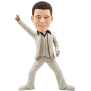 Custom Bobble Head Man Dancer