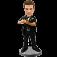 Custom bobblehead Policeman