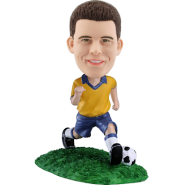 Custom Brazil football Bobbing head