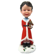 Custom bobble head Christmas Kid