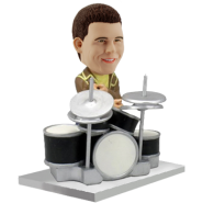 Customised bobblehead Drummer