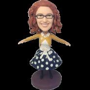 Dancing Girl Custom Bobblehead