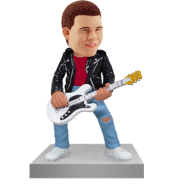 Rock N Roll Guitarist Bobblehead