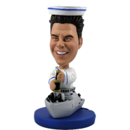 Navy Officer Bobblehead