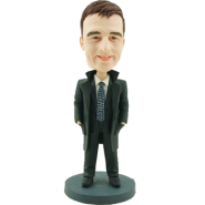 Office Man Personalised Bobblehead