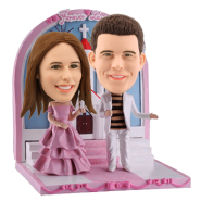 Personalized Wedding Bobble Head