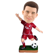 Personalized Bobblehead Football Player