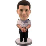 Personalized bobblehead Police Officer