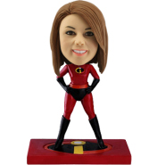 Super Lady Custom Bobble Head