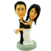 Bride Jumping On Groom Bobbleheads