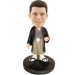 Customized Bobble Head Japanese Warrior