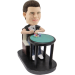Custom Bobblehead Poker Player