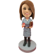 Custom Bobblehead Woman Teacher