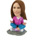Custom Bobblehead Yoga Girl