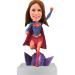 Customised Supergirl Bobbblehead