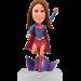 Customised Supergirl Bobbblehead