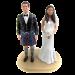 Scottish / Irish Wedding Cake Topper