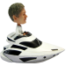 Personalised Bobblehead Man in Speedboat