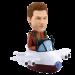 Personalized Bobble Head Pilot