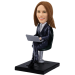 Personalized bobblehead Sexy Secretary