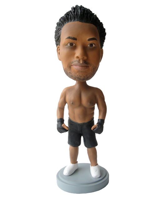 Custom Kickboxing bobblehead