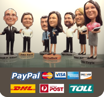 corporate bobbleheads gift