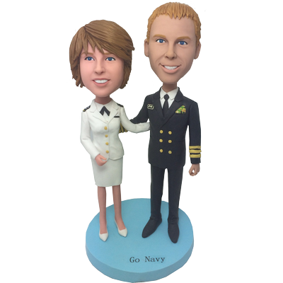 Airline Wedding Custom Bobbleheads