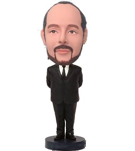 Businessman Custom Bobblehead