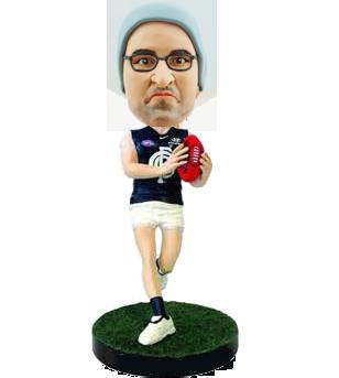 Carlton football bobblehead
