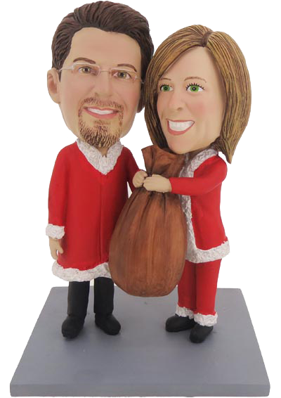 Christmas Gift Couple Bobbleheads