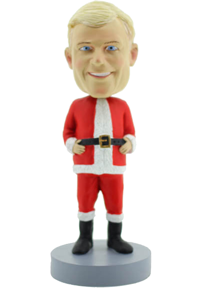 Christmas Stanta  Bobble Head