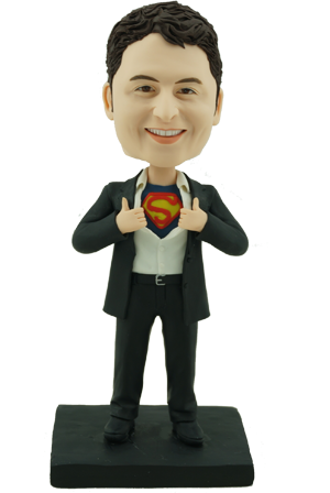 Custom Bobble Head Clark Kent