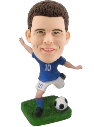 Personalized Bobble Head Football
