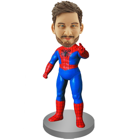 Custom Bobble Head Spider-man