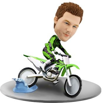 Custom Bobblehead Dirtbike