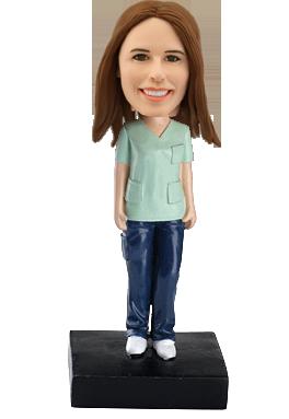 Custom bobblehead Female Nurse