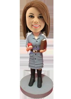 Custom Bobblehead Woman Teacher