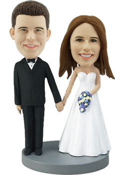 Custom Bride and Groom Bobble head