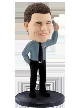 Personalised bobblehead Boss