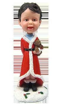 Custom Hobble head Christmas Kid