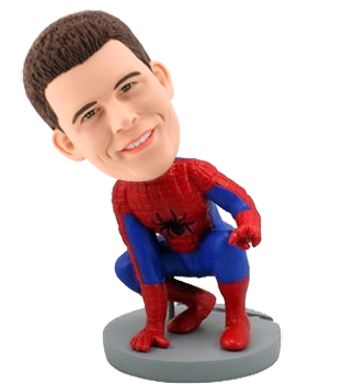 Custom Spiderman Bobble Head